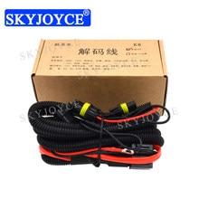 SKYJOYCE 1 Piece 35W K6 HID Decoder Line Canbus Wire Error Warning Canceller for Kia K3 K5 Sportage Sorento Hyundai IX25 IX35
