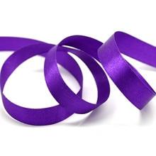 1 Roll Polyester Ribbon 1/2 Wide Purple DIY Scrapbook Festival Decorative Findings