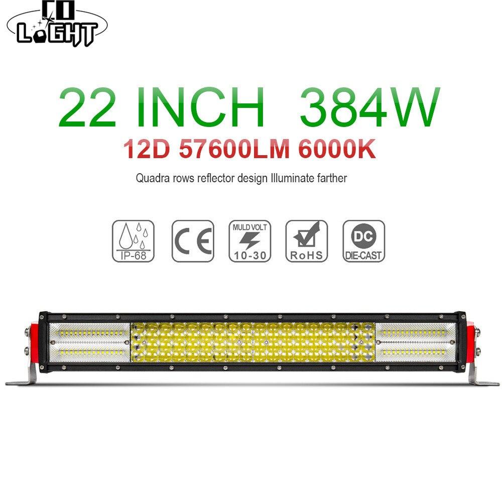 CO LIGHT 12D 4-Row LED Light Bar 22