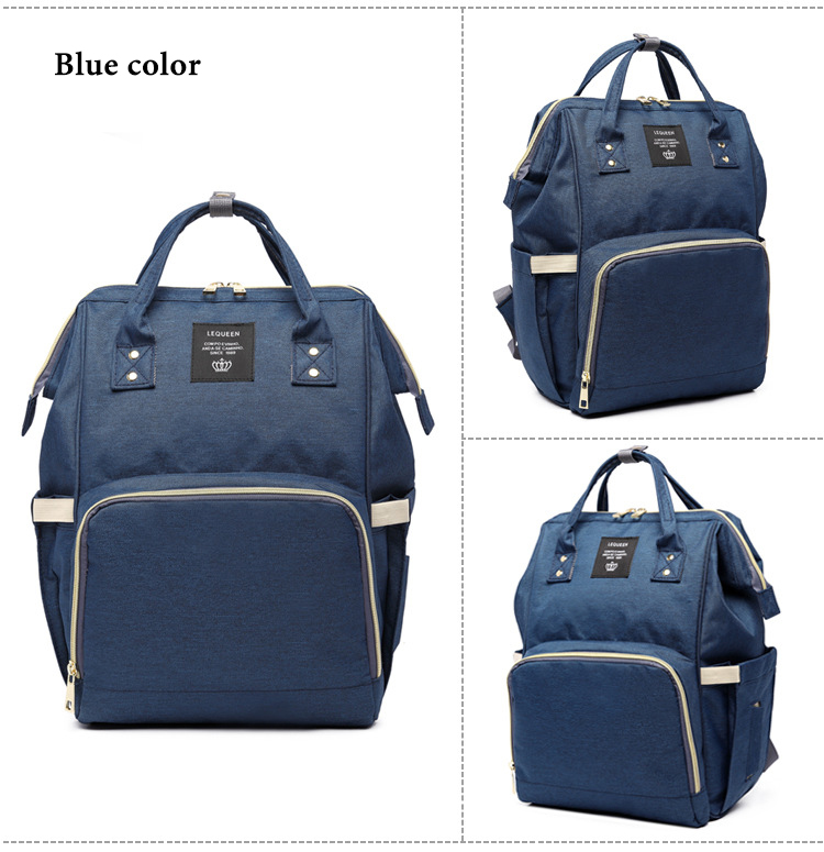 HTB1vLqhXgLD8KJjSszeq6yGRpXaS Fashion Brand Large Capacity Baby Bag Travel Backpack Designer Nursing Bag for Baby Mom Backpack Women Carry Care Bags