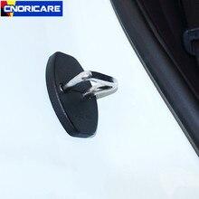 CNORICARC 1 компл. двери автомобиля замок Пряжка Накладка для Porsche Cayenne Macan ABS защиты Чехлы мангала Авто интимные аксессуары