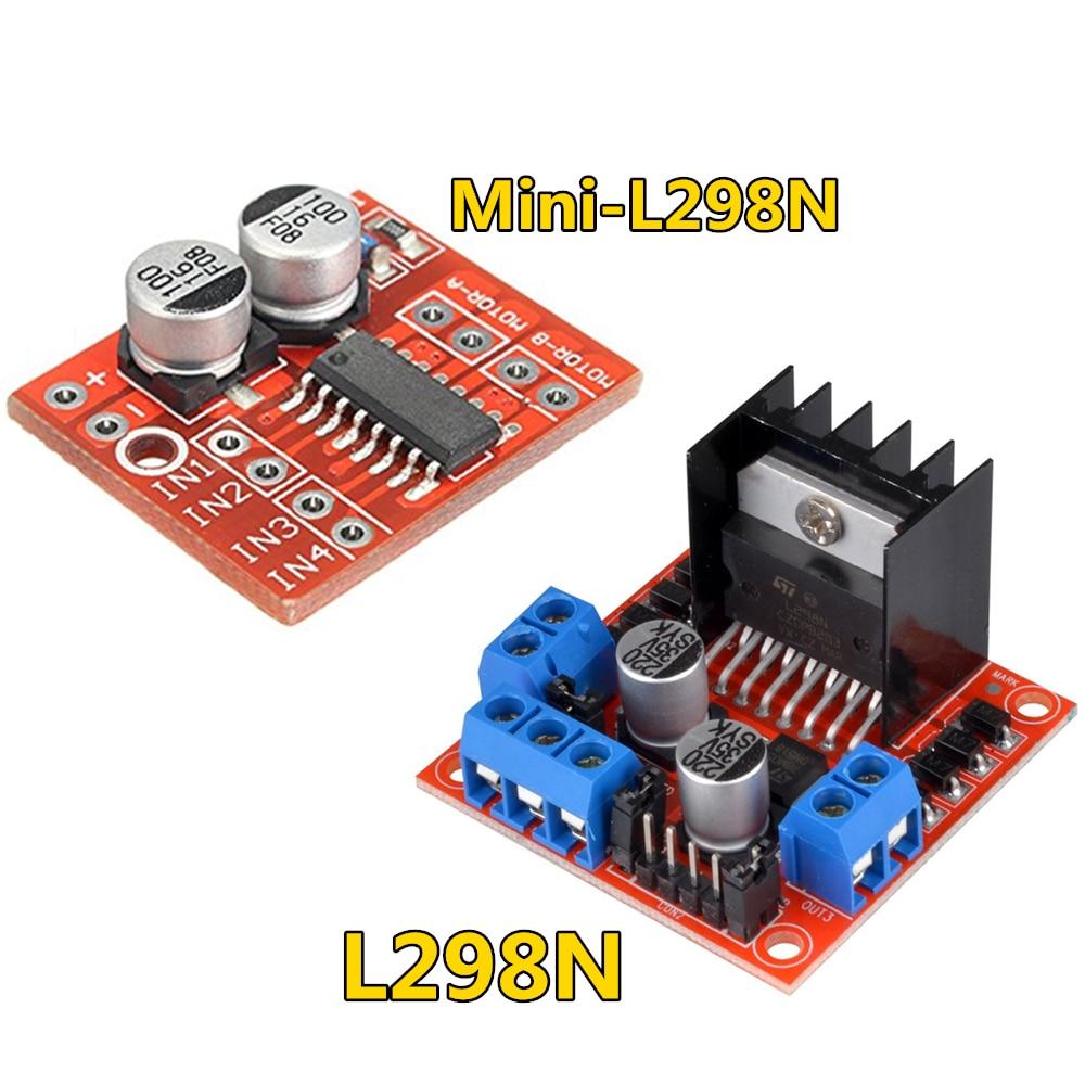 L298N driver board module L298N stepper motor smart car robot breadboard peltier High Power L298 DC Motor Driver for arduino(China)