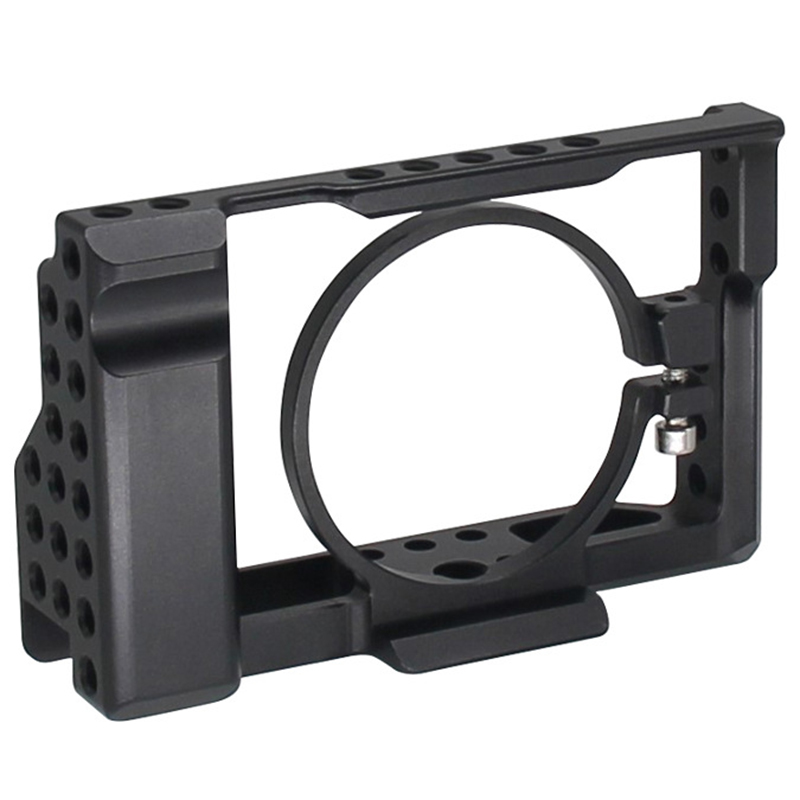 <font><b>Rx100</b></font> Iii(M3) Iv(M4) V(M5) Camera Cage For Sony <font><b>Rx100</b></font> Iii(M3) Iv(M4) V(M5) Dslr Camera Case Camera Rig Cold Shoe image