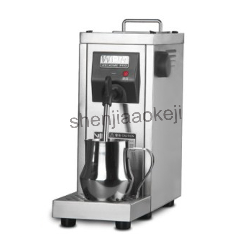 цена на 220v Commercial Professional pump pressure Milk Frother/Fully automatic milk steamer coffee frother MilkFoam Machine