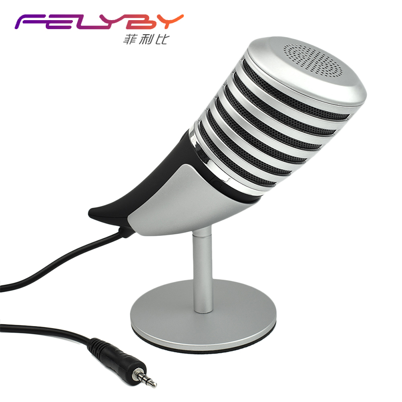 Professional high quality Game Condenser microphone Computer 3.5mm / USB microphone Computer meeting Video chat + Metal stent r8 m06 net chat network microphone computer karaoke microphone silver 3 5mm plug 192cm cable