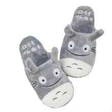 Women Slipper Totoro Cute Cat Cartoon Animal Home Slipper Autumn Winter Indoor  Bedroom Flats Warm Floor Shoes Slippers Female недорого