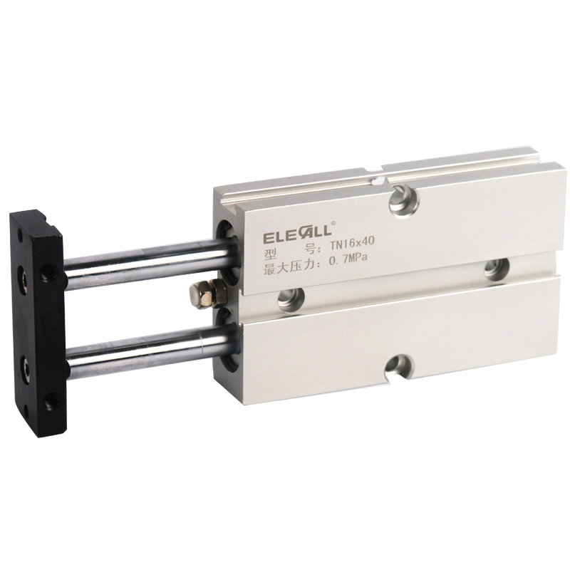 TN16*10/16mm Bore 10mm Stroke Compact Double Acting Pneumatic Air Cylinder cdj2d 10 16mm mini pneumatic cylinder double acting double clevis style more types refer to form