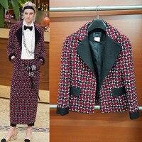 Женские элегантные офисные куртка, большие размеры твид элегантные пальто, casaco, дамы Chaquetas Mujer уникальный jaqueta feminina, XS 6XL