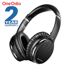 Oneodio A3 Bluetooth Headphones Active Noise Cancelling Wireless Headset Apt X Low Latency Over Ear Headphone With Mic For Phone