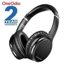 Oneodio a3 bluetooth 헤드폰 능동형 소음 차단 무선 헤드셋 apt x 저 대기 시간 이어폰 형 헤드폰 (마이크 포함)