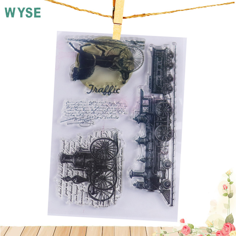 Clear Stamp Steampunk era Clear Stamps Craft Transparent Rubber Silicone stamp for DIY scrapbooking paper card making