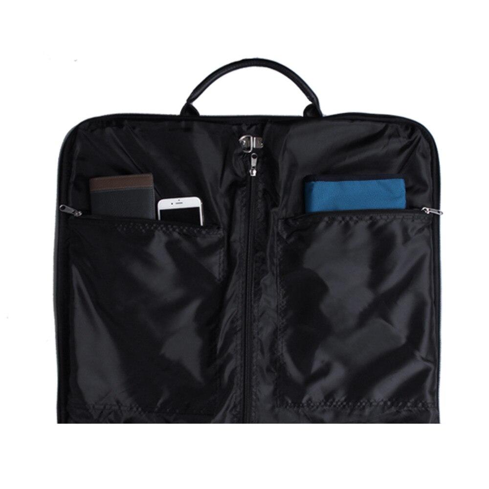 Ecosusi Travel Bag Black қара өткізбейтін ілгіш - Багаж және саяхат сөмкелері - фото 2
