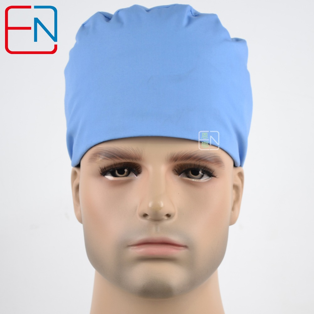 51cde829e9b Hennar Surgical Scrub Caps High Quality Cotton Fabric Material Adjustable Size  Caps Mask Medical Doctor Nursing Scrub Cap Unisex-in Accessories from  Novelty ...