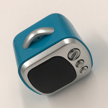Mini TV Style Wireless Speaker Bluetooth Cute Portable Speaker Fashion Design Support TF Card Outdoor Loudspeaker 3W