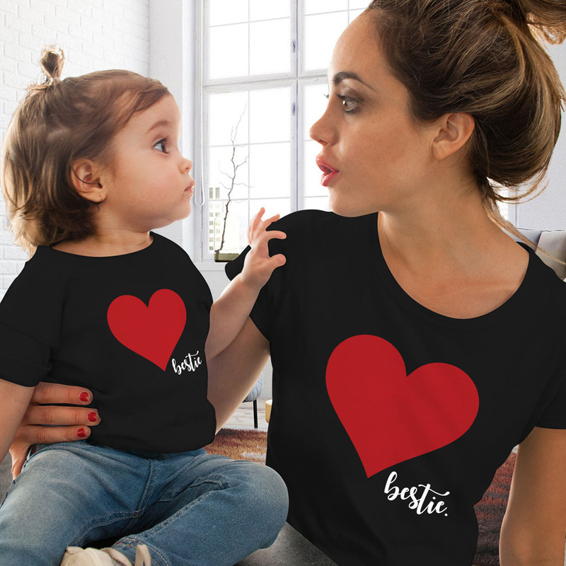 mommy-and-me-clothes-mother-daughter-matching-family-outfits-t-shirt-women-kids-baby-girls-soft-cotton-heart-print-tops-o-neck