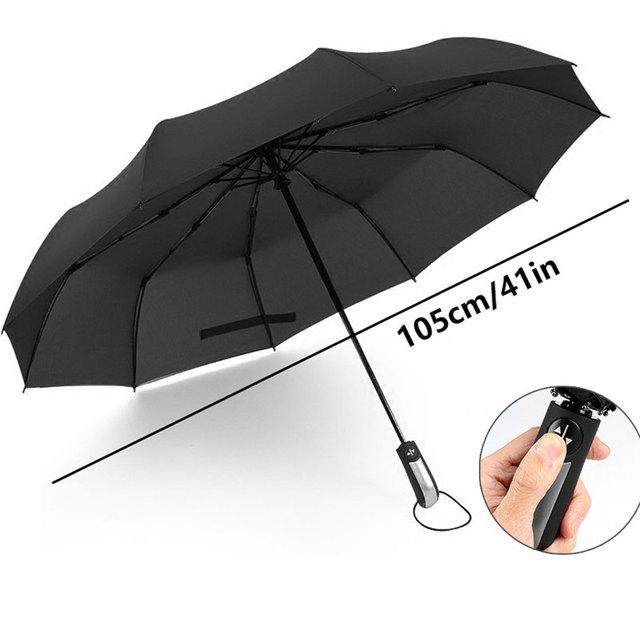 Wind Resistant Folding Automatic Umbrella men Luxury Big Windproof Umbrella Rain Women Male Umbrella