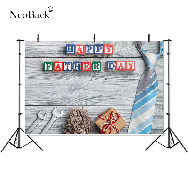 Neoback Day Background Photography 3rd Sunday June Fathers Day Gift