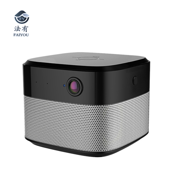 Wireless Smart Security WIFI Camera Remote Monitor IR LED Night Vision Bluetooth Speaker Stereo Audio Family Theater Subwoofer