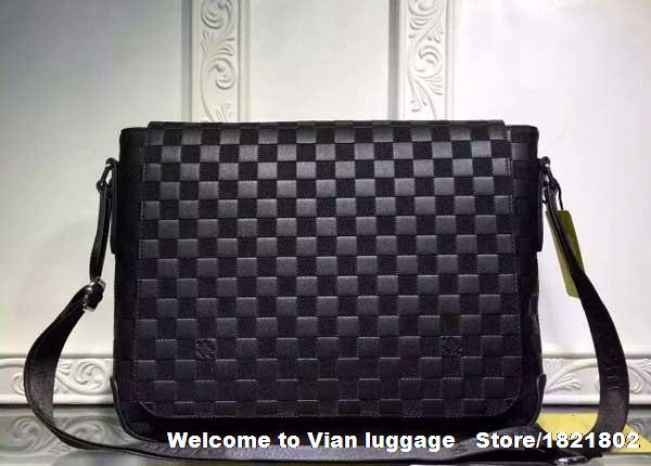 Free shipping famous Italian brand L men s leather messenger bag elegant  men s briefcases office bag No 7268f24a179