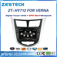 ZESTECH 2016 car dvd for Hyundai Accent/Verna with gps dvd radio usb cd 800*480 hd screen