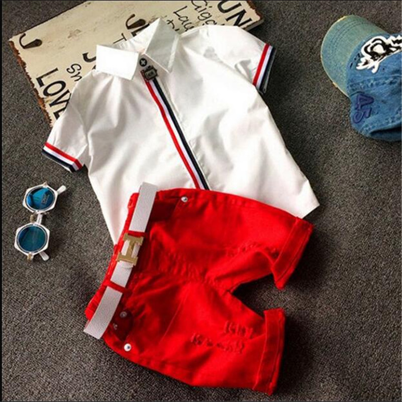 Child summer male fashion child 7 8 short-sleeve T-shirt shorts set 2 3 little boy baby clothes summer 6 4 5 Boy and girl family fashion summer tops 2015 clothers short sleeve t shirt stripe navy style shirt clothes for mother dad and children