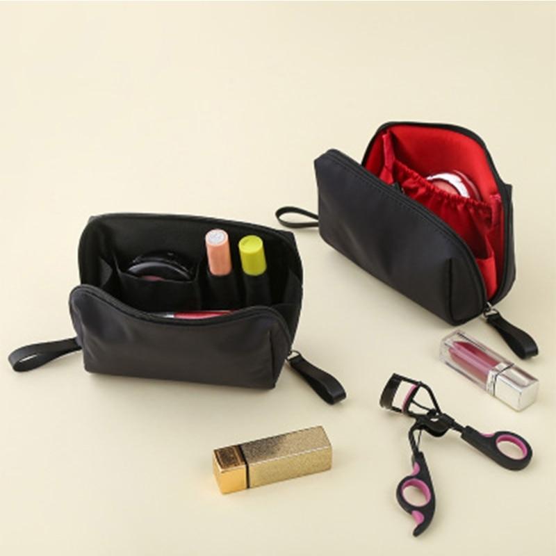 THINKTHENDO Travel Women Cosmetic Pouch Clutch Purse Makeup Bag New 3 Color Handy Travel Nylon Waterproof Storage Handbag
