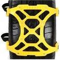 3 unids/lote Universal engrosamiento nieve cadenas de neumáticos de barro zinciri antideslizante cadenas de seguridad del automóvil coche rueda de patín de doble broche de presión cadenas