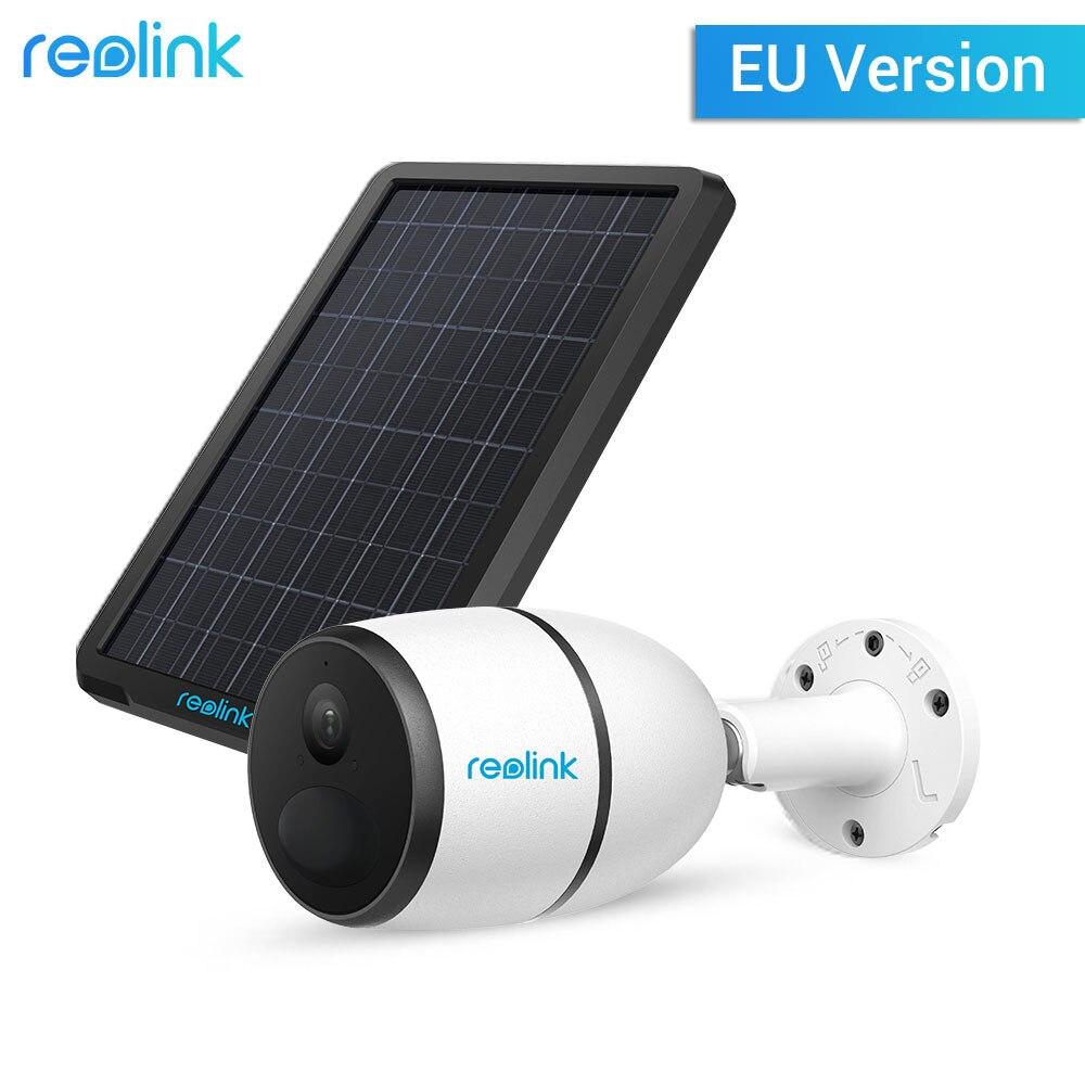 Reolink GO 4G Telecamera di Rete con Pannello Solare Esterno di Alimentazione di Ricarica di Sicurezza Animale IP Cam con 2-way audio, registrazione locale