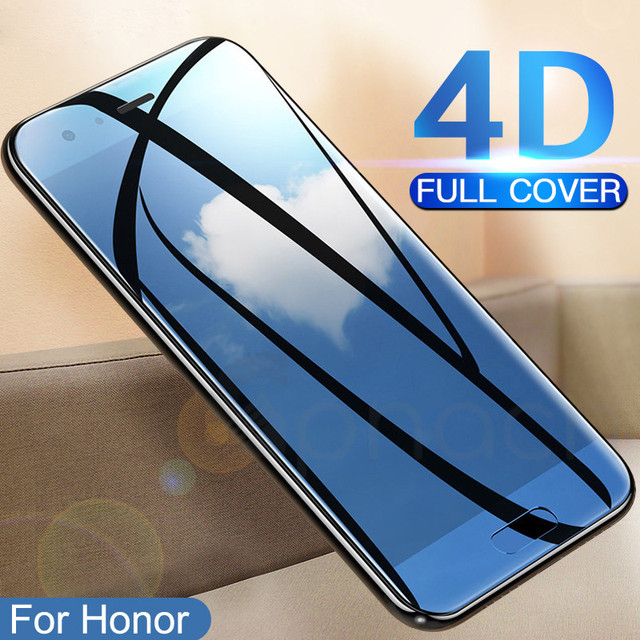 GPNACN Full Cover Tempered Glass on the For Huawei Honor 10 Lite V10 V9 Play Screen Protector For Honor 9 8 Lite Protective Film Phone Screen Protectors