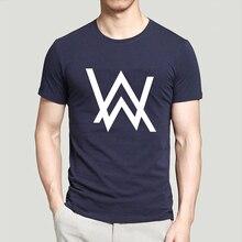DJ Alan Walker Faded T Shirt Men 2017 Summer T Shirt 100 Cotton Brand Clothing Camisa