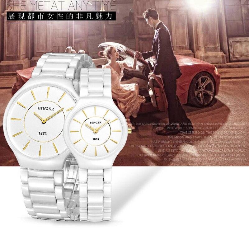 Роскошные художественные белые керамические женские часы женские кварцевые часы наивысшего качества часы со стразами эксклюзивные художе... - 4