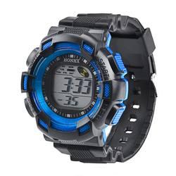Детские электронные часы светодиодный часы цифровой сигнализации Дата резиновая Relogio Masculino армия спортивные часы Цифровые Детские часы
