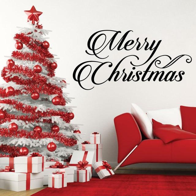 Glücklich Frohe Weihnachten zitate Ferienzeit Hause Fenster ...