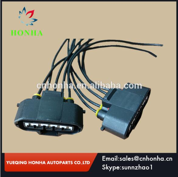 90980 11317 mass air flow maf sensor connector with plug pigtail rh aliexpress com Honda Wiring Harness Connectors Wire Harness Plugs