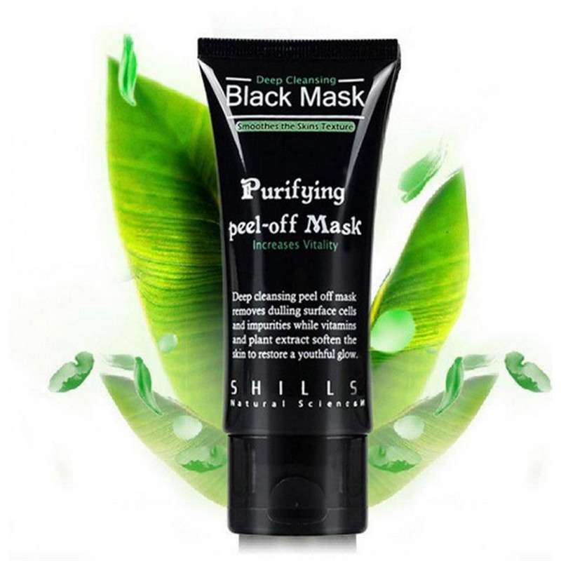 Black Mask Face Mask Blackhead Remover Deep Cleansing Purifying the Black Head Acne Treatments Face Mask Skin Care