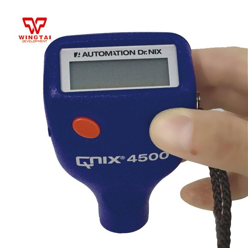 Allemand QNix 4500 Mini voiture peinture numérique épaisseur testeur peinture épaisseur mètre 0.0-3000 um couche revêtement épaisseur jauge