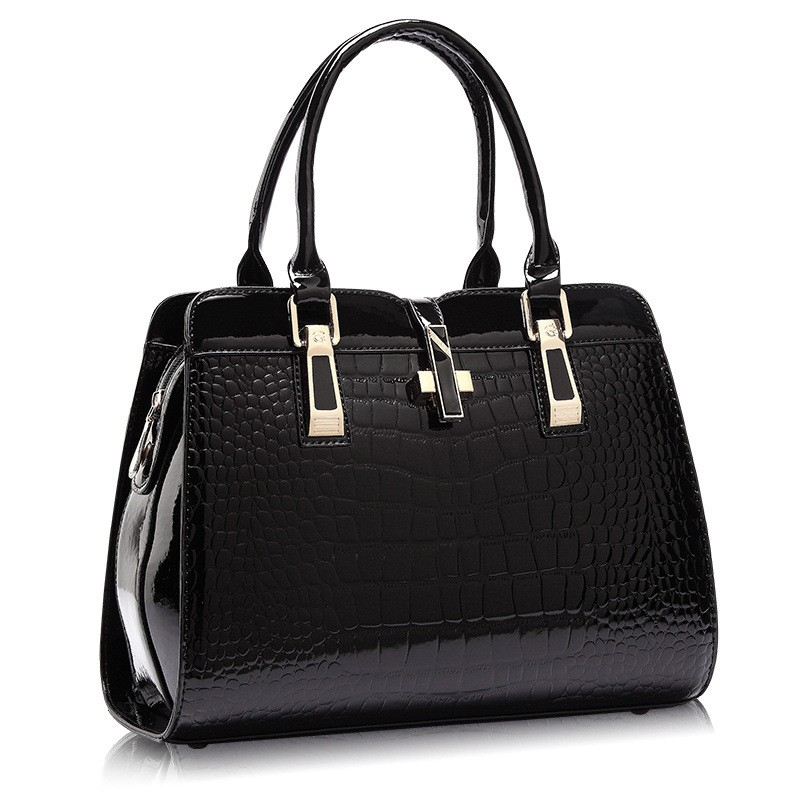 Arsmundi Authentic Luxury Handbags Women PU Leather Shoulder Bag New Ladies Handbags Crocodile Shoulder Crossbody Bag For Women yuanyu 2018 new crocodile handbag leather women handbags single shoulder bag