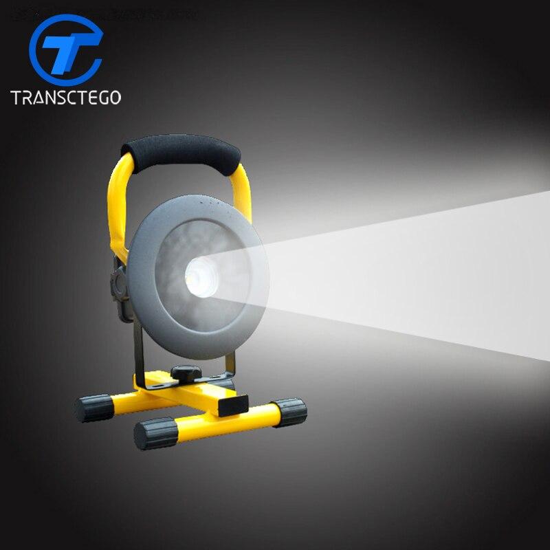 Широкий свет открытый 30 Вт мобильной работы аварийного Тип лампы зарядки светодиодные лампы проектора проекта зонд легкой руки света