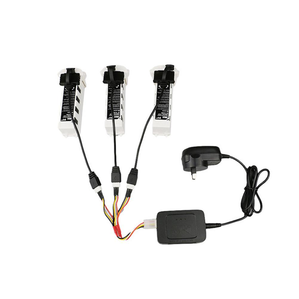 3-in-1 Battery Charging Cable Balance Battery Charge Cord Line Adapter For Hubsan ZINO H117S Quadcopter Drone Original Battery