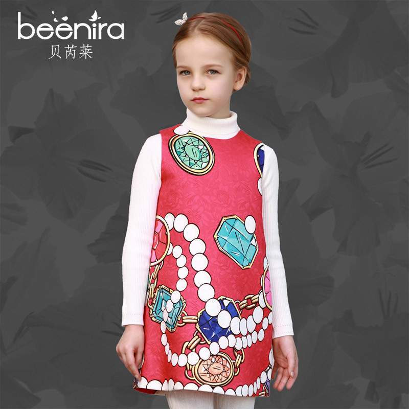 Girls Dresses carnaval costumes for kids Princess Costume Mode Enfant Bear Print Pattern Kids Dresses for Girls Clothes carnaval
