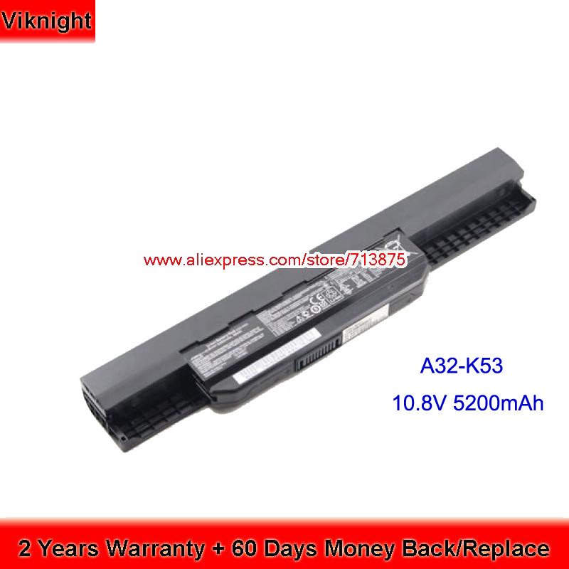 A32 K53 A32-K53 Battery for Asus A43S A53S K53B K53BY K53E K53F K53J K53SD K53SJ K53SV K53T K53TA K53U 7800mah laptop battery for asus k53 k53b k53by k53e k53f k53j k53s k53sd k53sj k53sv k53t k53ta k53u