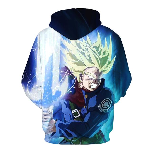 Super Saiyan Trunks Sweater Hoodie Sweatshirt