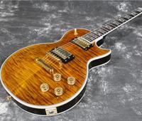 Starshine Good Quality LP Custom Shop Superme Style Electric Guitar AAAAA Figured Maple Top And Back