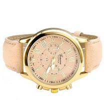 Men & Women's Leather Band Watches