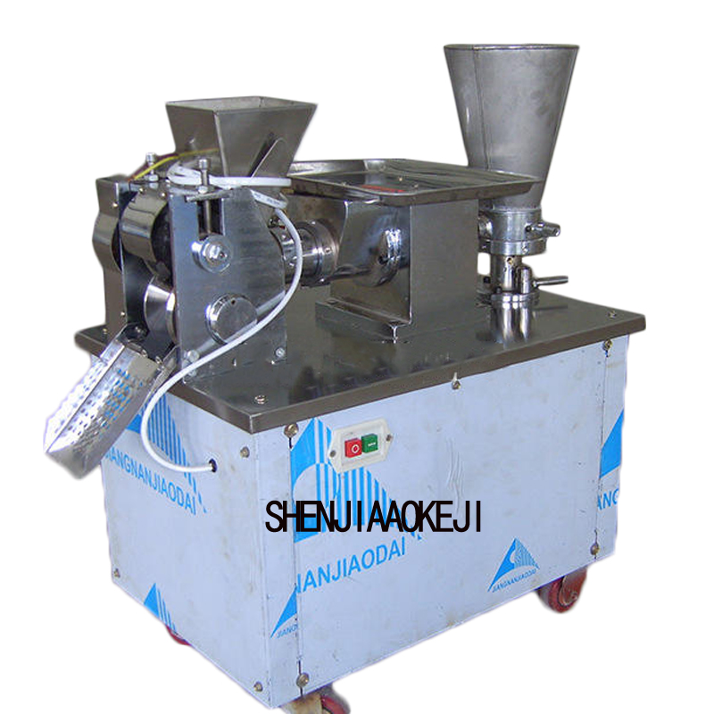 Stainless steel dumpling machine small imitation dumpling machine home 220V 2.2KW 1pc automatic make dumplings machine