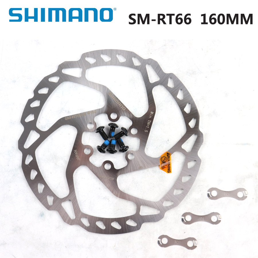 Shimano SLX//Deore RT66S 160mm 6-Bolt Disc Brake Rotor