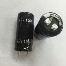 Condensador Super de alta calidad, 12 Uds., 2,7 V, 100F, 2.7v100f, 22x45mm, 25x50mm