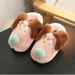 Зимние Детские тапочки Обувь для мальчиков Обувь для девочек хлопок овец дети Теплая домашняя обувь новорожденных Обувь зима no1