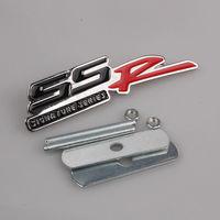 Auto Car SS R SSR CAMARO SONIC VOLT Metal Front Grille Grill Badge Emblem