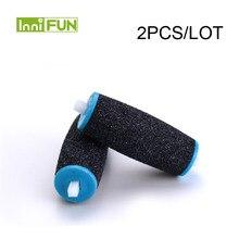 Новый 2 шт. для Sholl шелковистой Электрический ремонту ноги машина пилинг для педикюра устройства, чтобы заменить песок шлифовальной головки